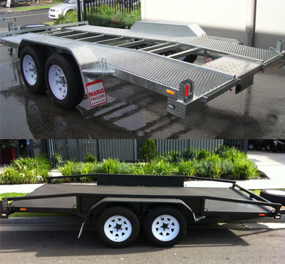 Quality Custom Car Trailer For Sale In Sydney By Mario Trailers