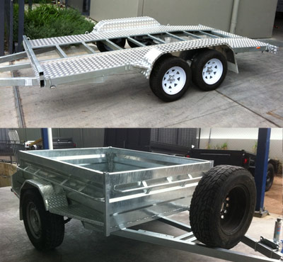 Galvanized Car Trailers For Sale