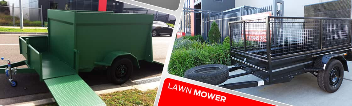 Lawn Mower Trailer